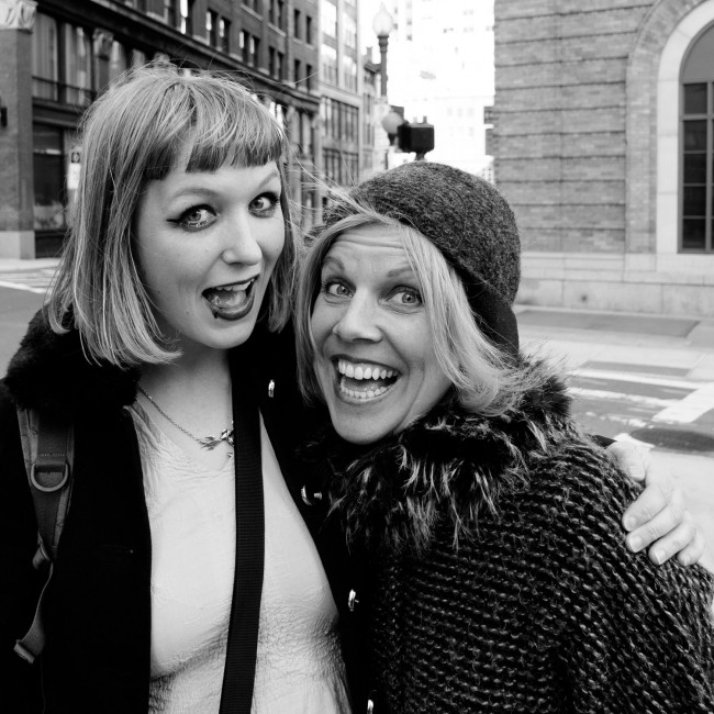 """""""Paper Thin"""" is Lauren Laverne's MPFree today - get your free download of my duet with Tanya Donelly! 1"""