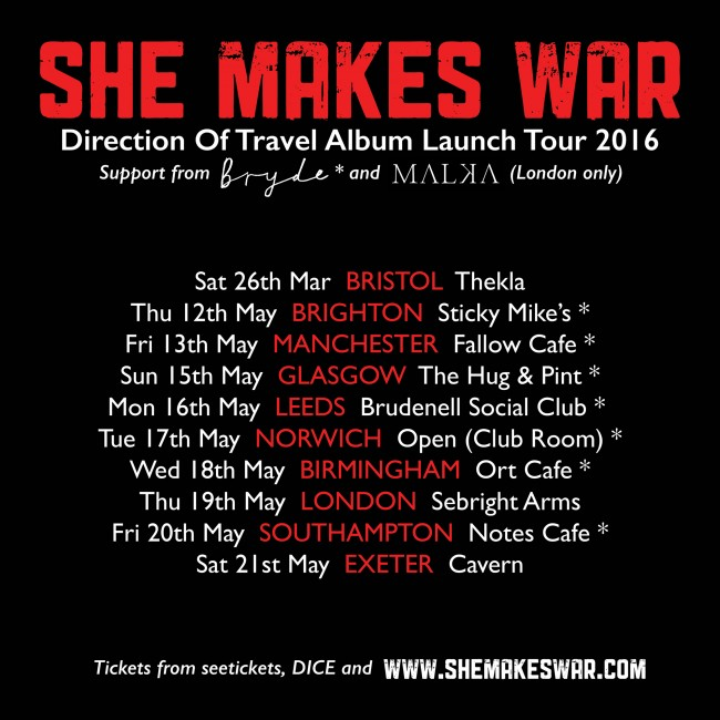 UK Headline Tour - Tickets On Sale Now! Support from Bryde + Malka
