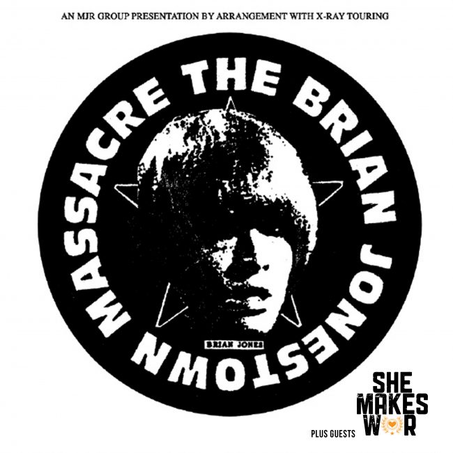 She Makes War to support The Brian Jonestown Massacre in Bristol and Southampton next month! 2