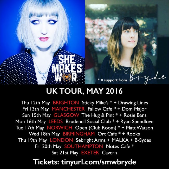UK Headline Tour - Tickets On Sale Now! Support from Bryde + Malka + more!