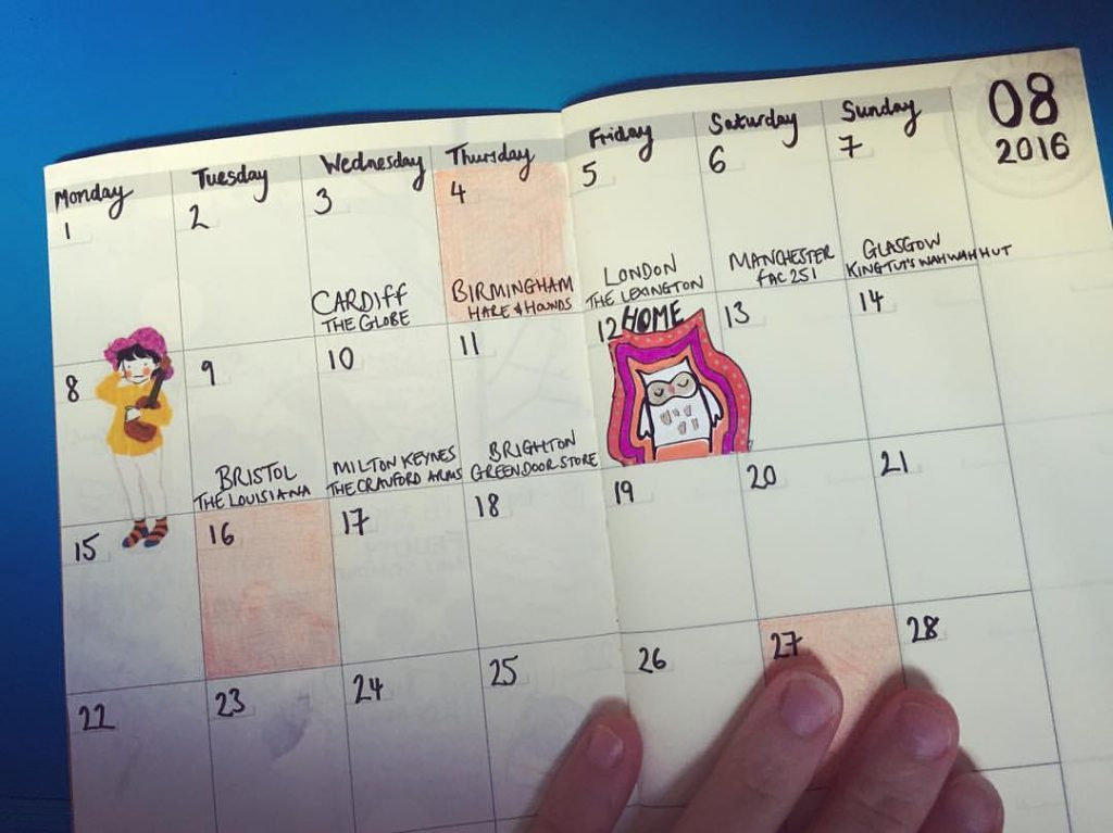 Tour Calendar