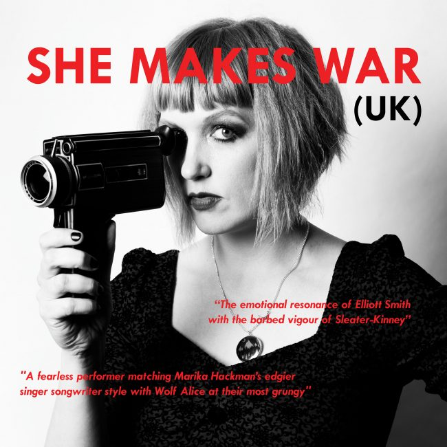 She Makes Tour - September and October 2017 dates in Europe 1