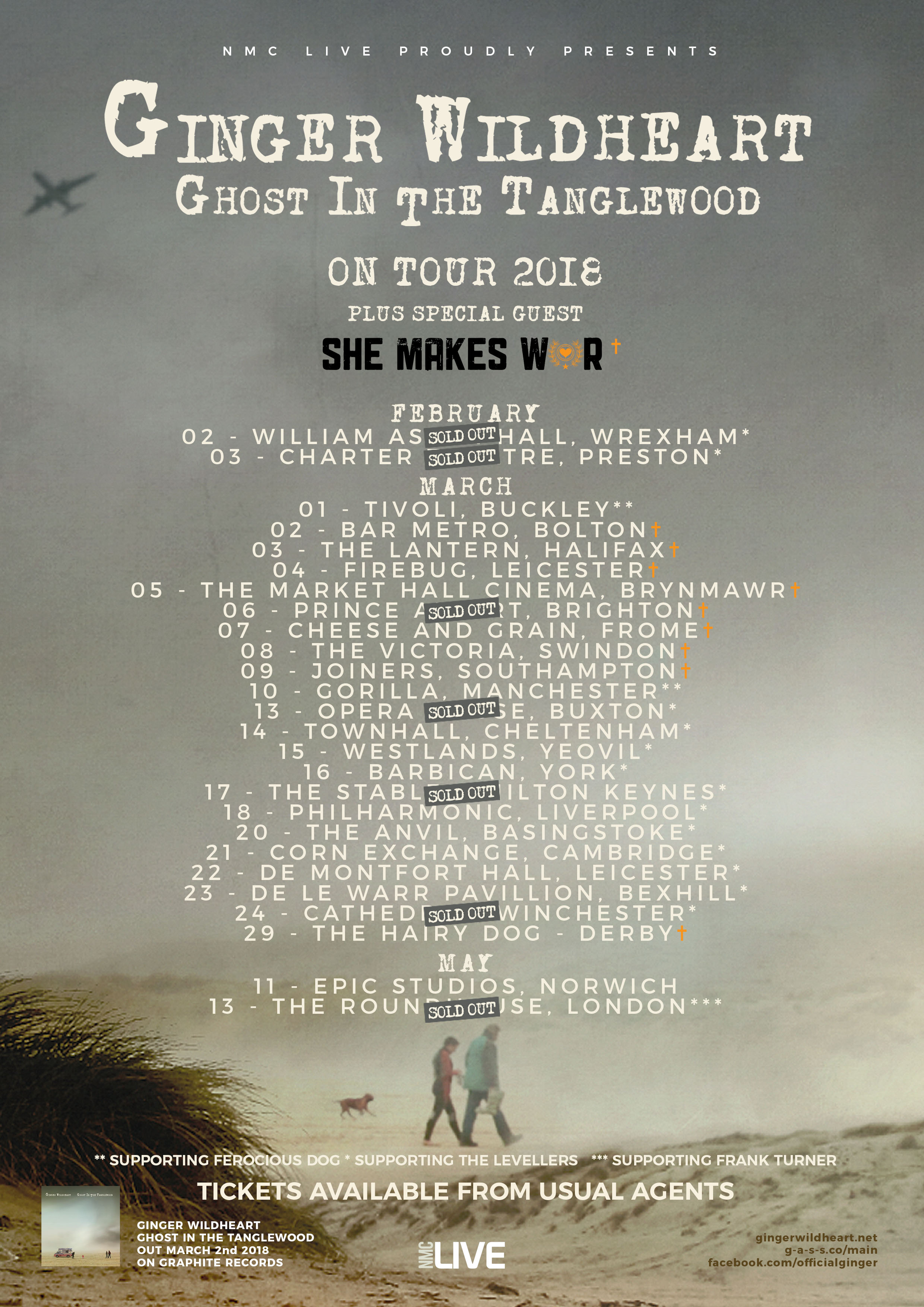 She Makes War | Gigs