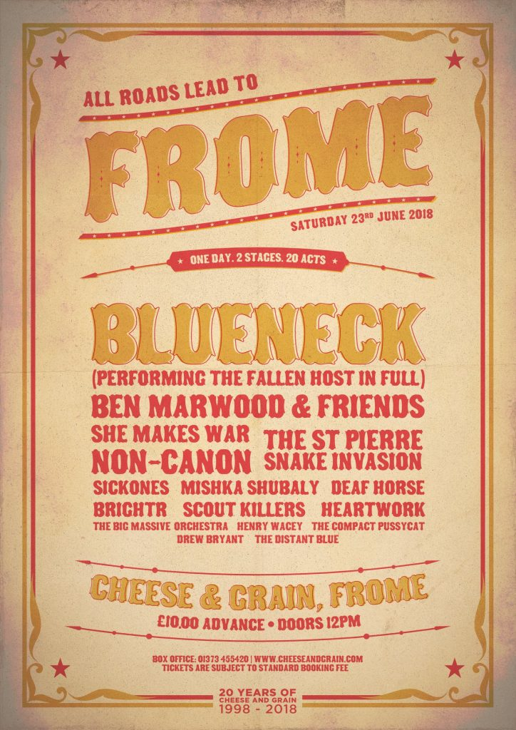 All Roads Lead To Frome