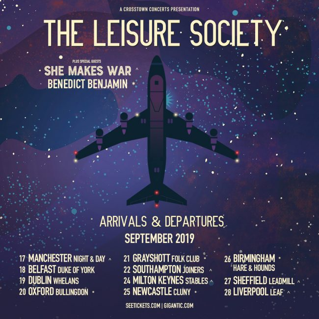 New UK dates with The Leisure Society, a reminder of the rest plus fests!